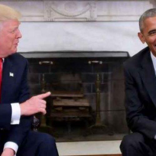'Foi uma honra', diz Donald Trump após encontro com Barack Obama