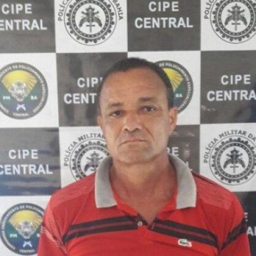 Homem é preso em Laje acusado de cometer homicídio em Ubaíra
