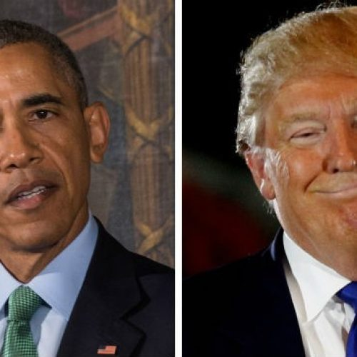 'Erro grave' de Trump, diz Obama sobre quebra de acordo com Irã