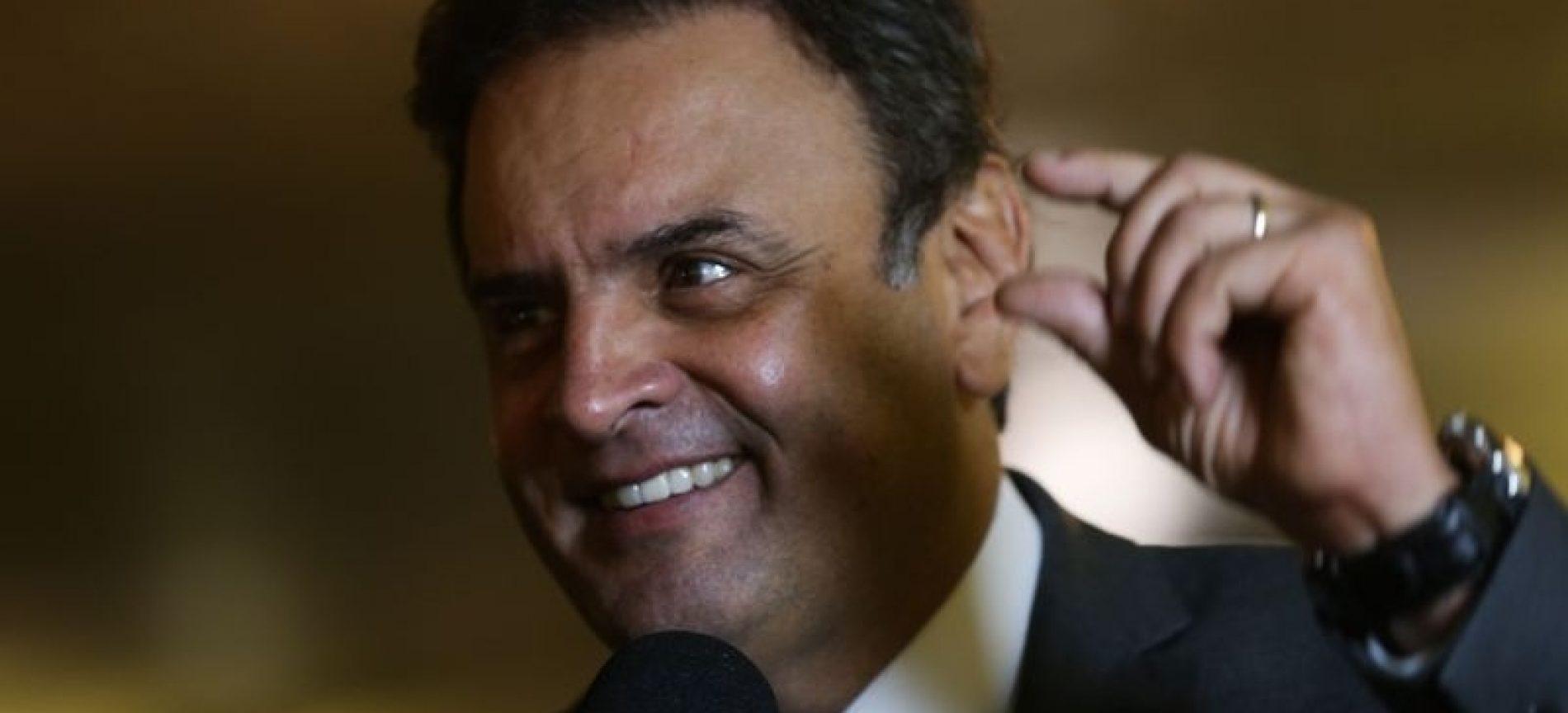 Executiva do PSDB prorroga mandato de Aécio à frente da sigla até maio de 2018