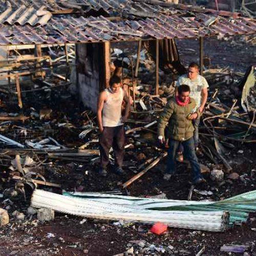 Explosão em mercado de fogos no México deixa 26 mortos e ao menos 70 feridos