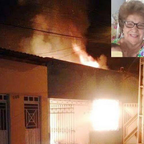 Itapetinga: Idosa morre carbonizada após incêndio em casa