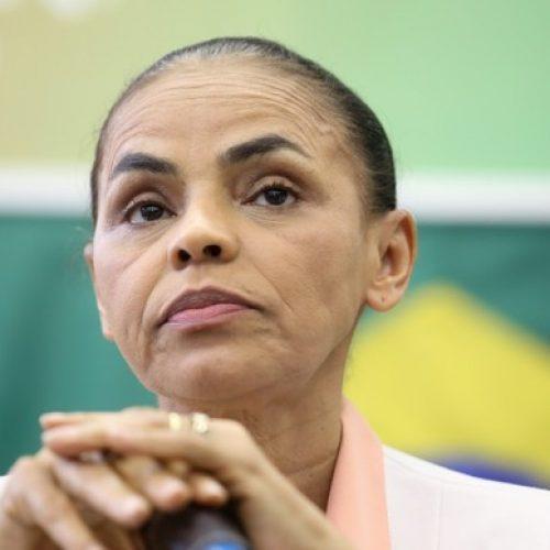 """Marina Silva: """"Não estou sozinha. Estou com milhares de brasileiros"""""""