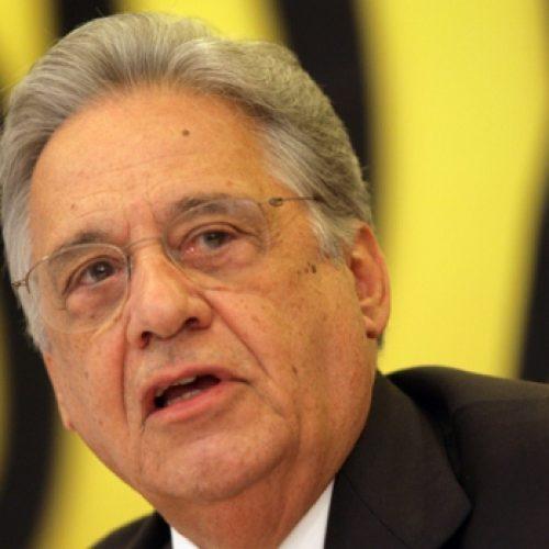 FHC: Não sou candidato e especulações atrapalham o país