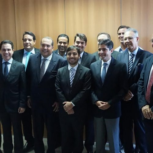 Oposição, ACM Neto e Zé Ronaldo se reúnem na Alba e avaliam cenário político