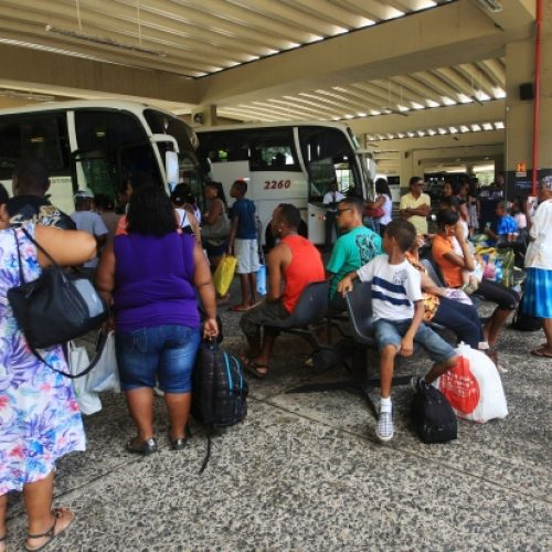 Rodoviária e Ferry tem operação especial no Feriado da Conceição da Praia
