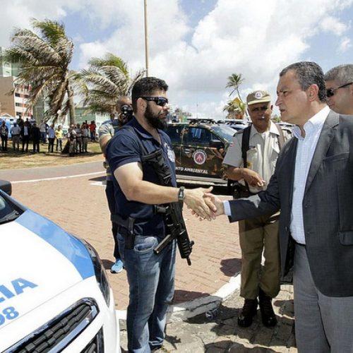 Rui Costa anuncia concurso com 2,8 mil vagas para policiais militares e Bombeiros