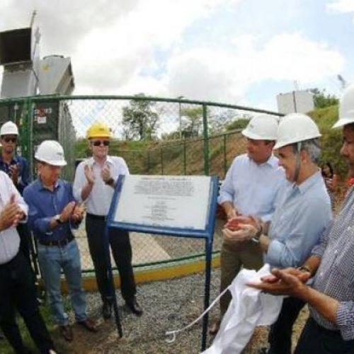 Inaugurada pelo Governo em Feira de Santana usina pioneira de energia de biogás