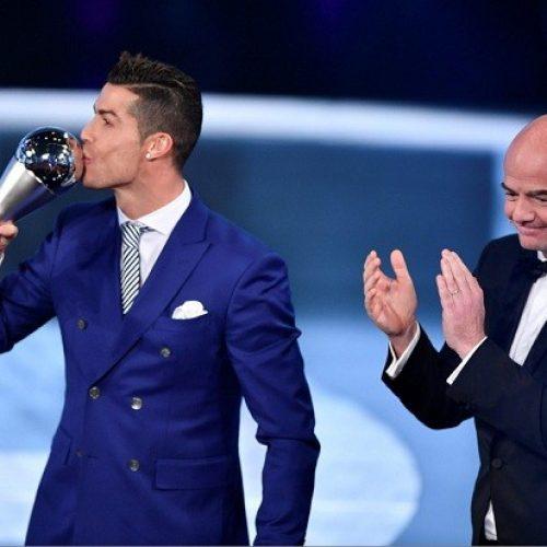 Campeão da Liga dos Campeões, Cristiano Ronaldo é eleito melhor jogador do mundo pela 4ª vez