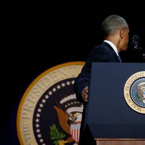 Em despedida, Obama pede para americanos se engajarem