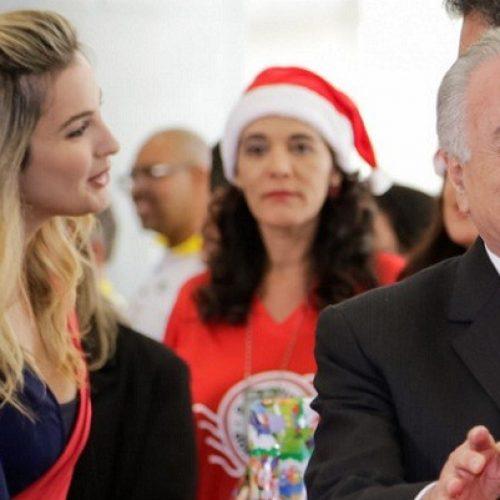 Ciúmes? Presidente Michel Temer proíbe Marcela Temer de dar entrevistas
