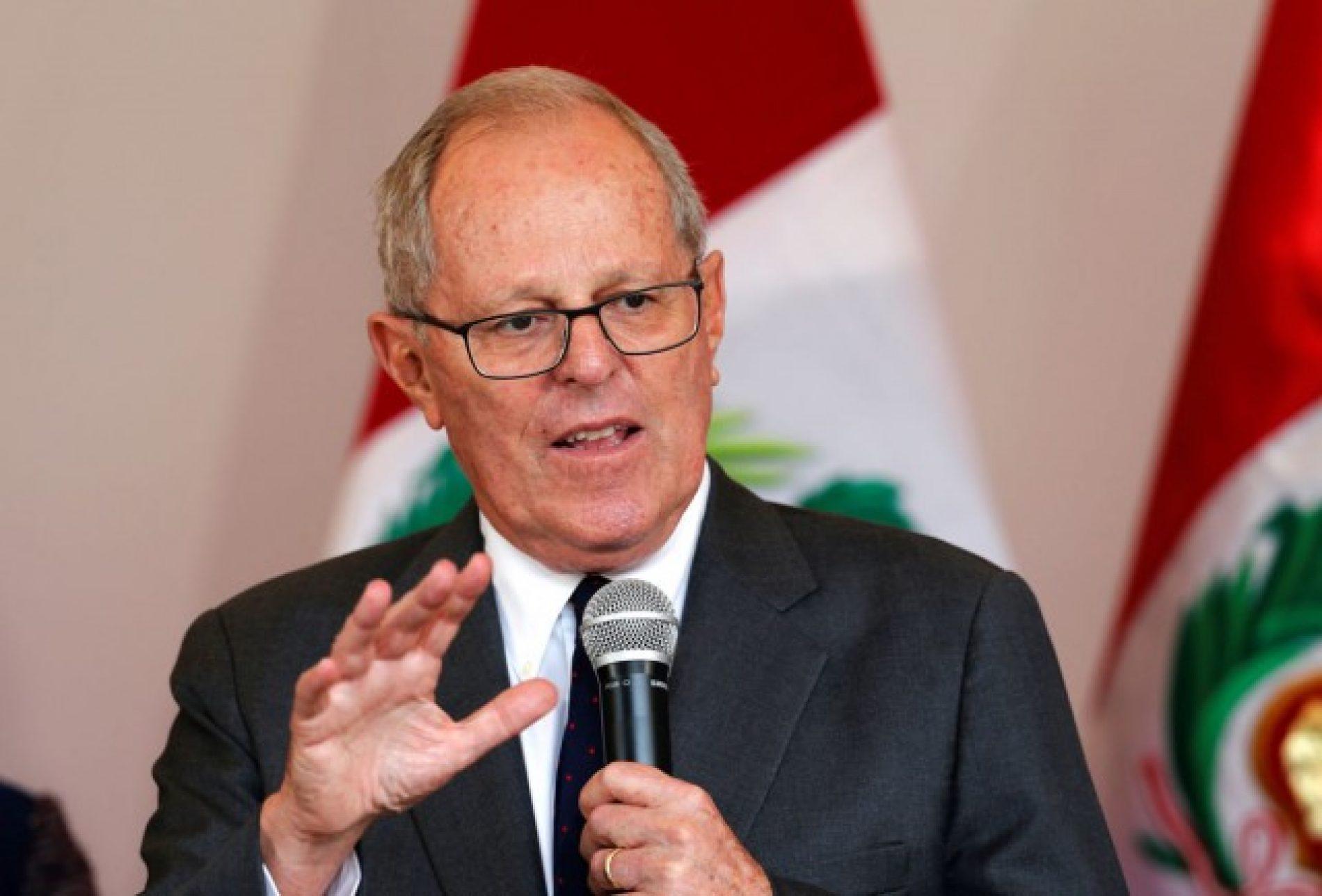 Presidente do Peru critica acordo com Odebrecht