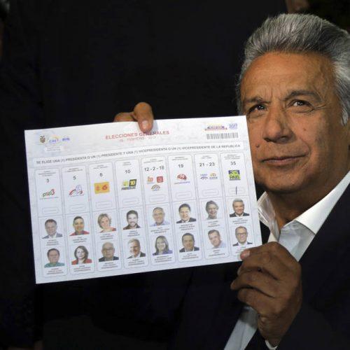 Eleições presidenciais no Equador devem ir para o segundo turno
