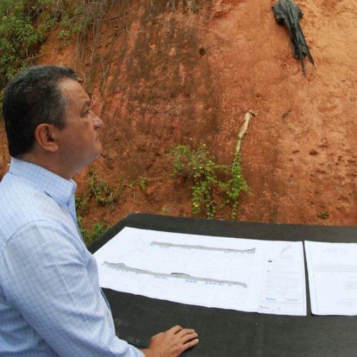 Governo investe 2,4 milhões em contenção de encosta em Pirajá