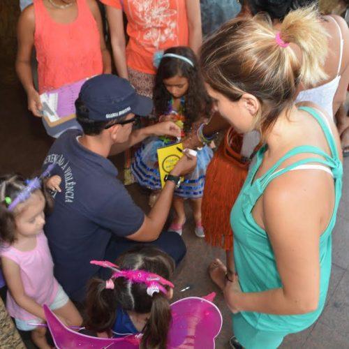 Guarda Civil Municipal já distribuiu 618 pulseirinhas para crianças