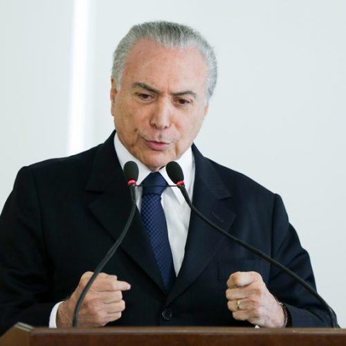 """""""Quem critica reforma da Previdência é quem ganha mais"""", diz o presidente Michel Temer"""