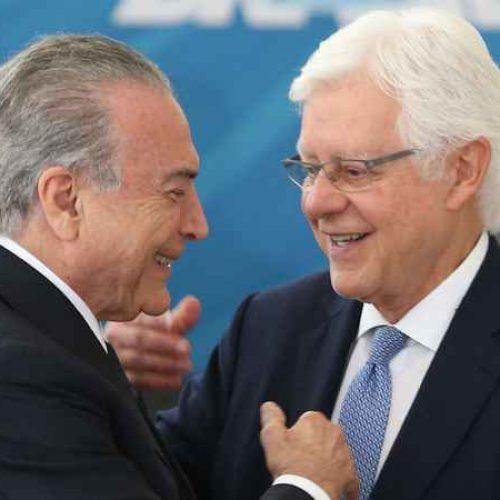 Ministro do Supremo mantém Moreira Franco no cargo de ministro de Michel Temer