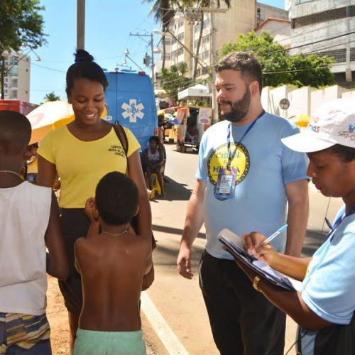 Prefeitura registra aumento de crianças em situação de risco no Carnaval