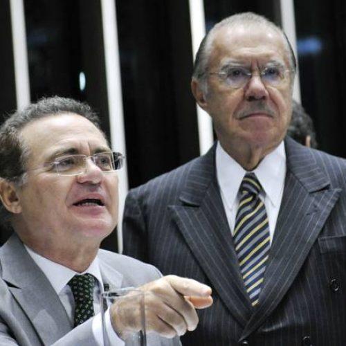 Renan e Sarney têm data para falar a Sergio Moro
