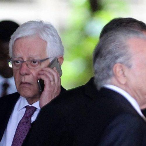 STF pede informações a Temer sobre nomeação de Moreira Franco