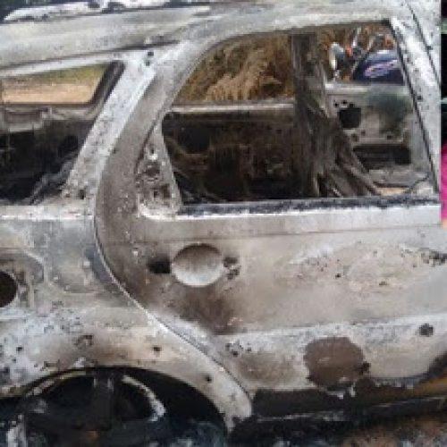 Vendedor é encontrado morto ao lado de veículo carbonizado em Teolândia
