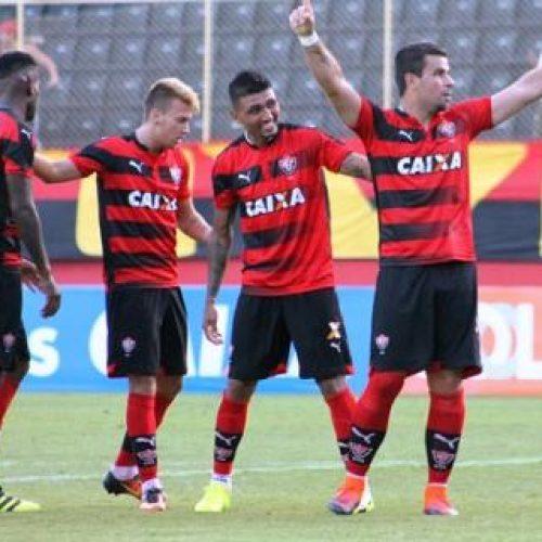 Com direito a gol contra na partida, Vitória vence América-RN pela Copa do Nordeste