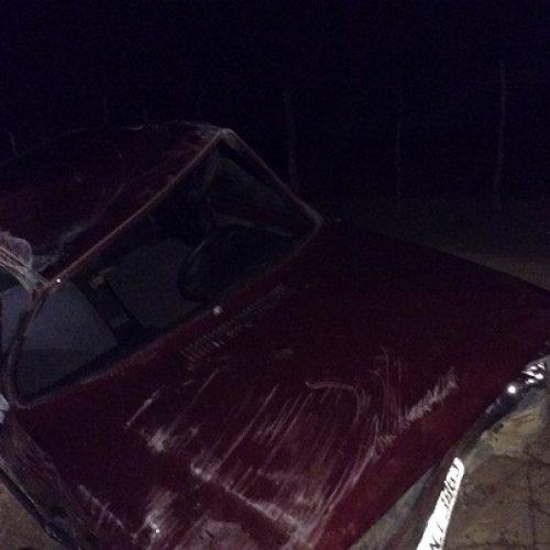 Irajuba: Carro capota na Rodovia BA-888 e deixa quatro feridos, na entrada da cidade