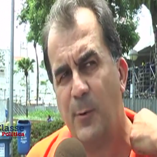 Fabio Mota atribui ao Uber engarrafamento na Garibaldi