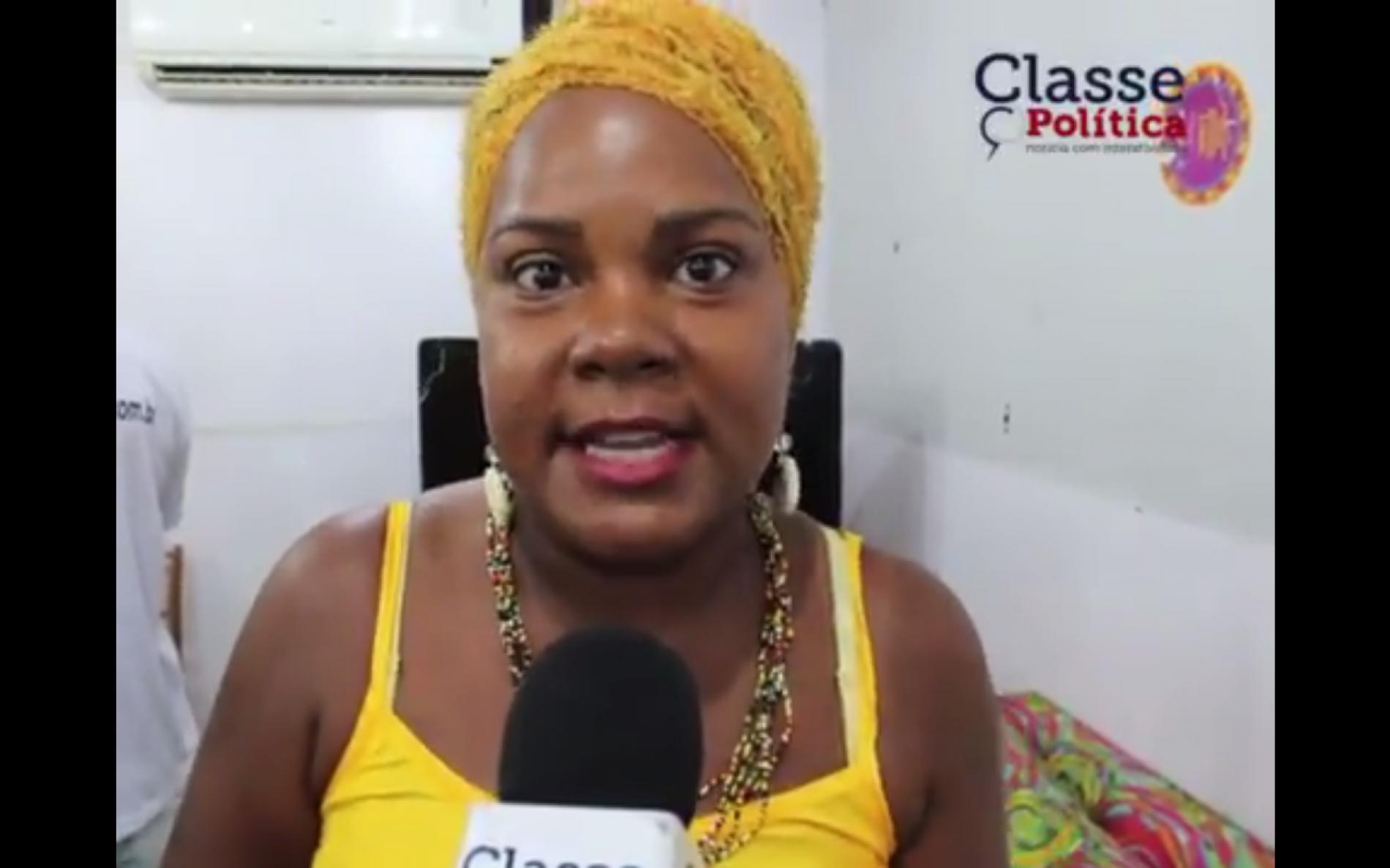 Diretora da Unegro, Sirlene Vanessa defende combate violência no carnaval de Salvador