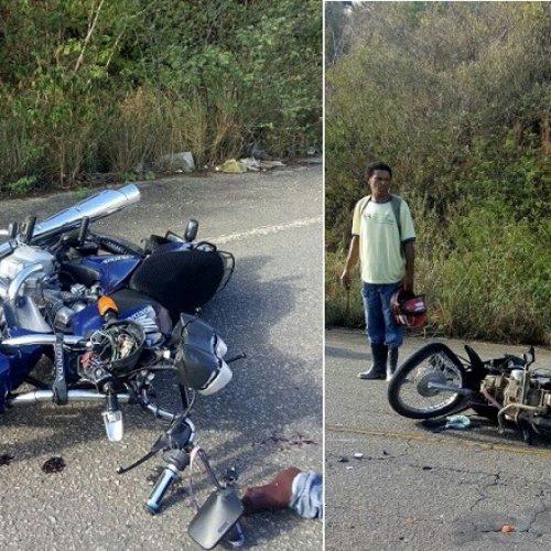 Jequié: Acidente cercado de mistérios deixa universitário baleado e policial ferido