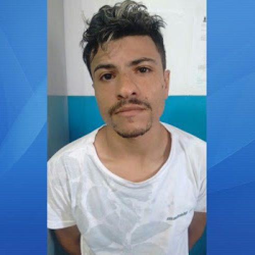 Acusado de homicídio e tráfico de drogas em Salvador é preso em Ibirataia