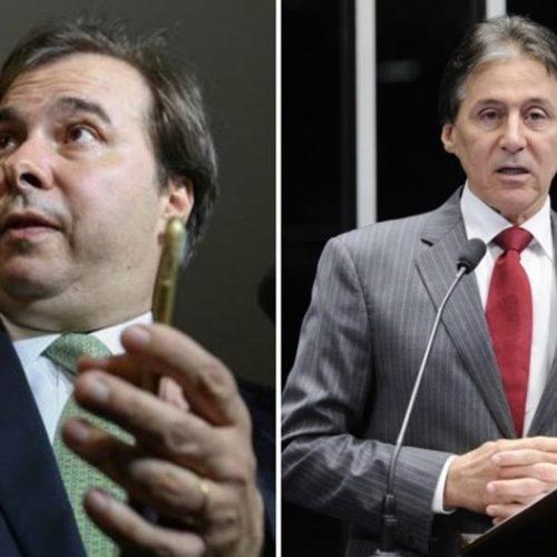 Alvos da Lava Jato, Maia e Eunício mudam a fala sobre reforma política