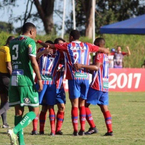 Bahia vence o Vitória da Conquista no Estádio Lomantão