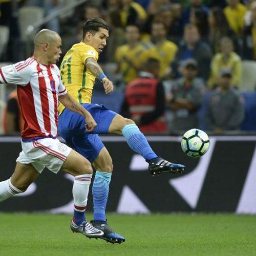 Brasil bate Paraguai por 3 a 0 e se classifica para a Copa de 2018