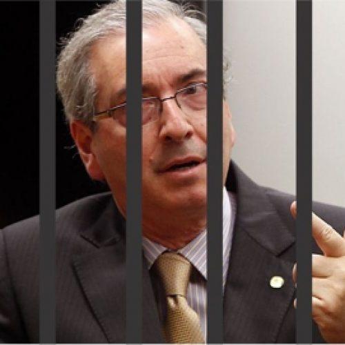 Justiça condena Cunha a 24 anos de prisão por fraude no FI-FGTS