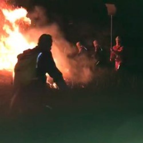 Defesa Civil e Bombeiros controlam incêndio em Guarajuba