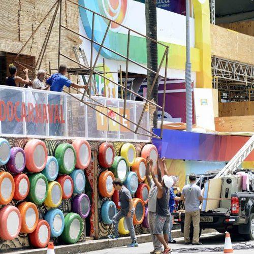 Estruturas do Carnaval devem ser desmontadas em até dez dias