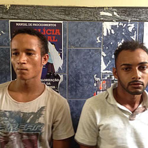 Homens de Santo Antônio de Jesus são presos com drogas em Dom Macedo Costa