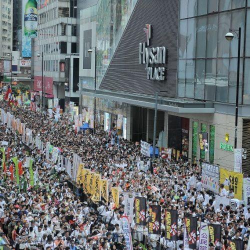 Hong Kong vota no domingo sob o olhar atento de Pequim
