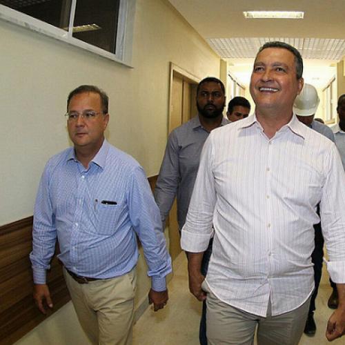 Governador Rui Costa visita obras do Hospital da Chapada; construção chega a 90%