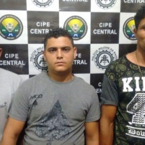 Integrantes de quadrilha que tocou terror em Igrapiúna acabam presos pela Cipe