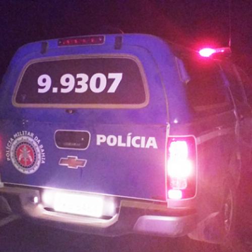 Itaquara: Suspeitos invadem supermercado, assaltam Lotérica e um tomba em confronto com a polícia
