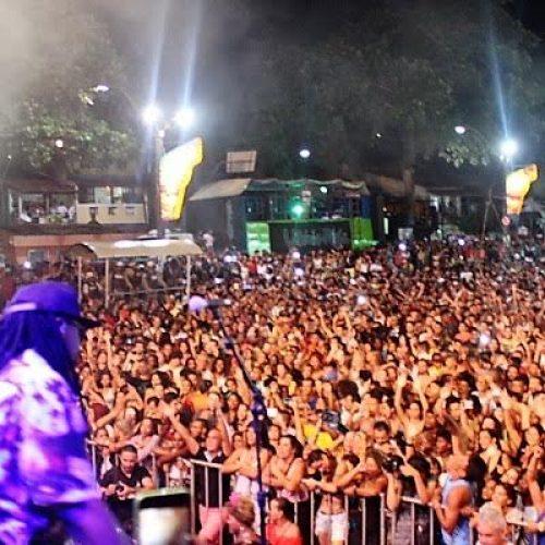 Jauperi encerra o Carnaval de Itacaré
