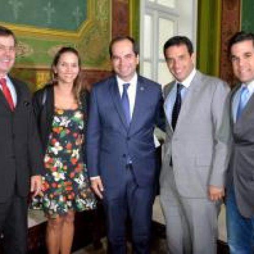 Leo Prates recebe procuradores do MPT e destaca importância da Justiça do Trabalho