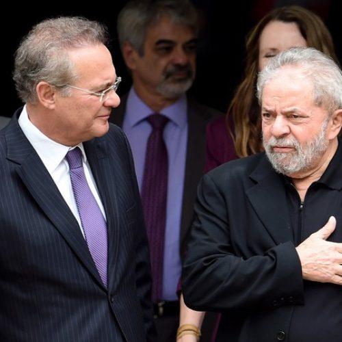 Lula desiste de Renan como sua testemunha de defesa