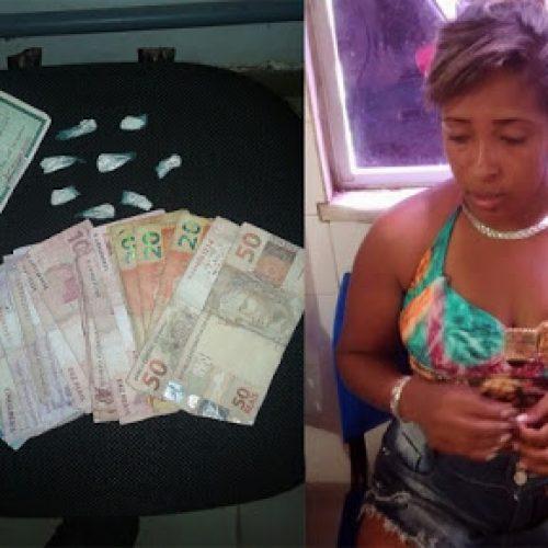 Ipiaú: Mulher é presa pela 3ª vez acusada de tráfico de drogas