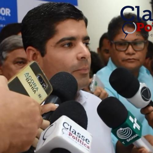 Prefeito ACM Neto apresenta edital do BRT; assista