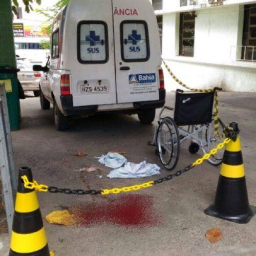 Alagoinhas: Paciente é morto a tiros no Hospital durante transferência