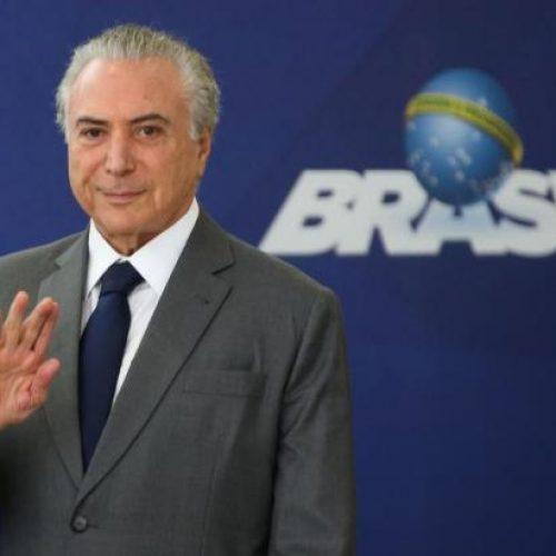 Desenvolvimento e crescimento no Brasil já começaram, diz Temer