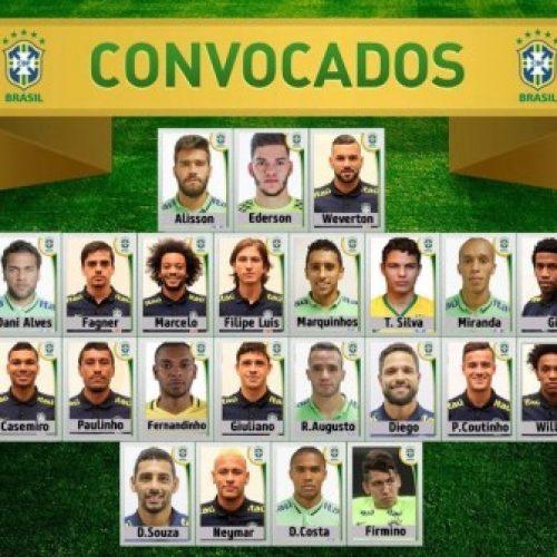 Tite convoca Seleção Brasileiras para jogos das Eliminatórias